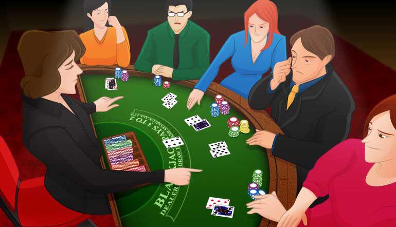 Slots on a roulette wheel