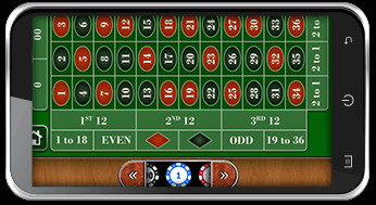Ruleta Americana en version casino movil