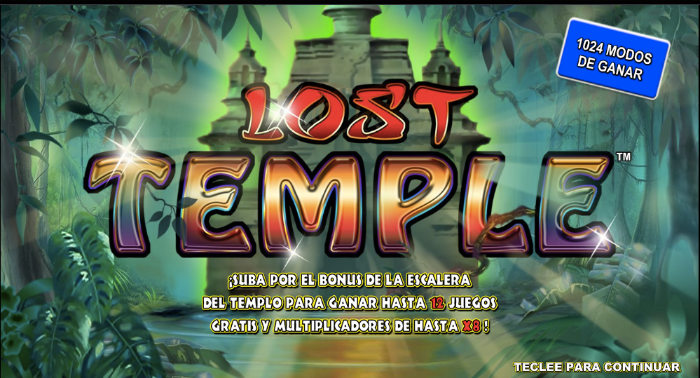 Slots Online Lost Temple