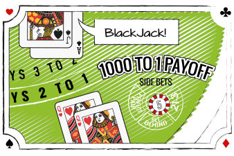 Side Bets Blackjack Lucky Ladies